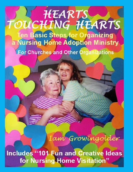 Front Cover Of Hearts Touching Hearts